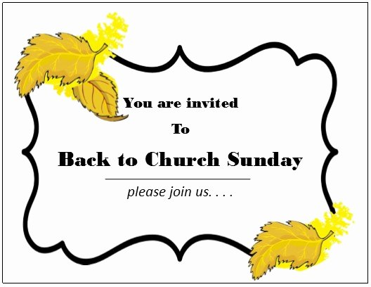 Church Invitation Cards Templates Best Of Church Invitation Cards