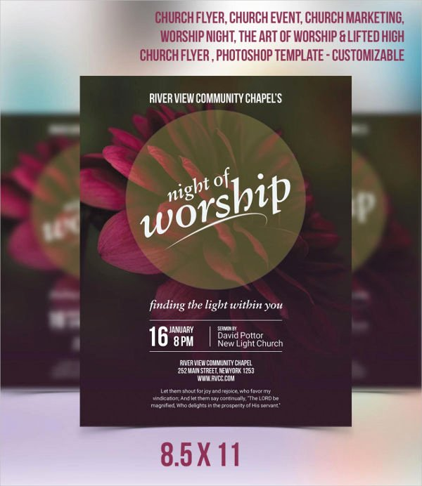 Church Invitation Cards Templates Fresh 49 Printable Invitation Flyer Designs & Templates Psd Ai Vector Eps