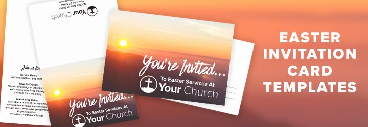 Church Invitation Cards Templates Lovely 7 Ideas Tips & Resources for Your Church This Easter Church Marketing Sucks