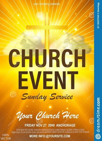 Church Invitation Cards Templates Luxury Church Invitation Flyers