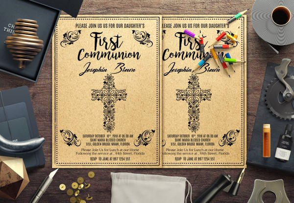 Church Invitation Cards Templates New 7 Church Invitation Samples Word Psd Ai Vector Eps