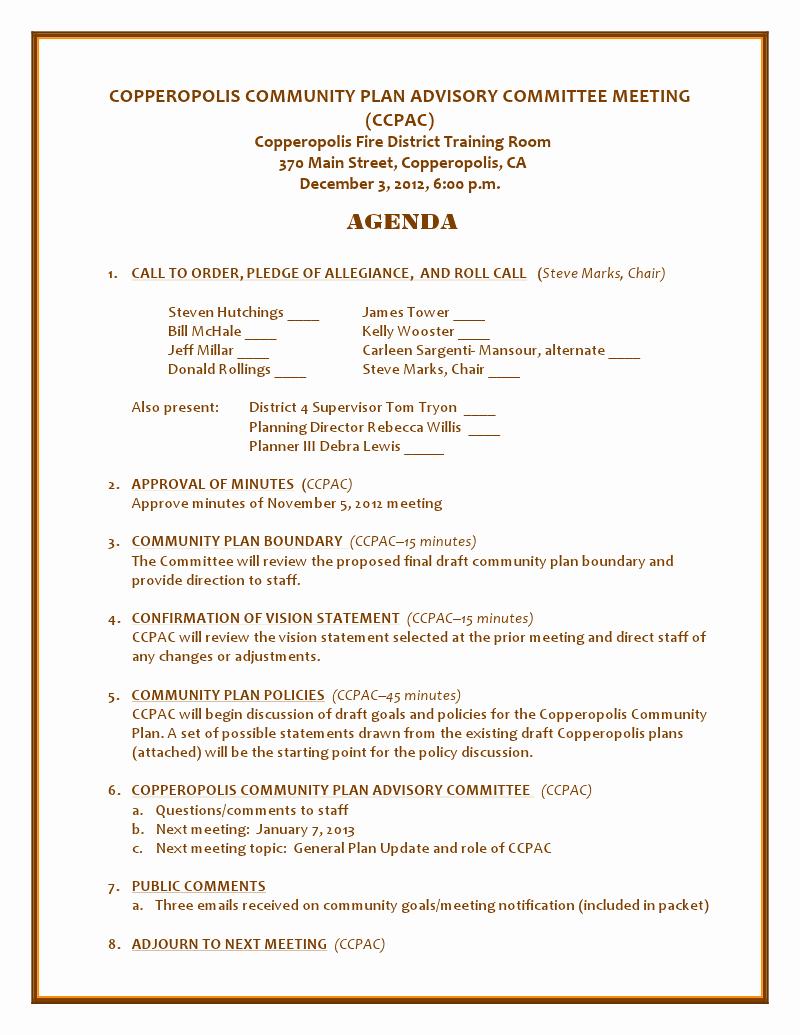 Church Meeting Minutes Template Best Of Best S Of Meeting Outlines for Church Sample Church Meeting Agenda Template Strategic