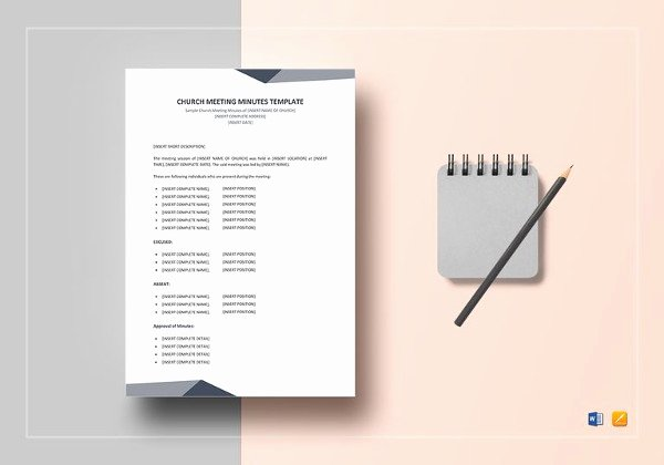 Church Meeting Minutes Template Lovely 19 Board Meeting Minutes Examples Word Apple Pages Google Docs