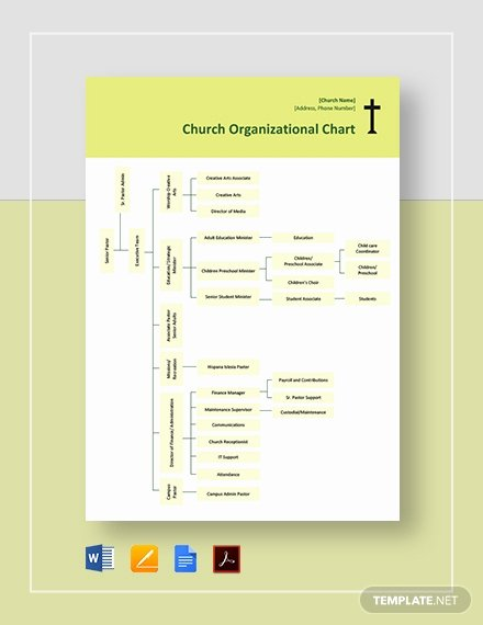 Church organizational Chart Template Lovely Church organizational Chart Template Download 112 Charts