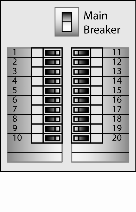 Circuit Breaker Panel Label Template Unique Electrical
