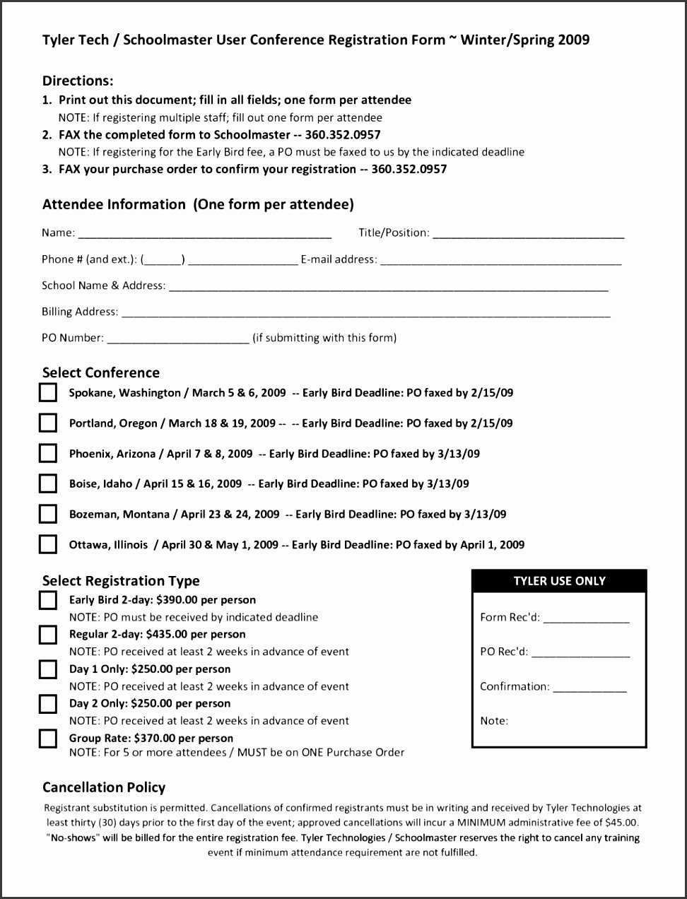 Class Registration form Template New 9 School Registration form Template Word Sampletemplatess Sampletemplatess