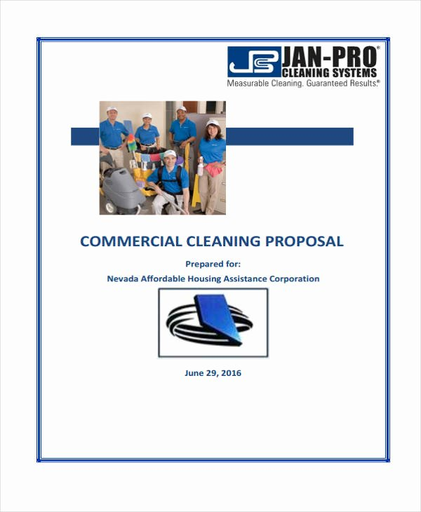 Cleaning Proposal Template Pdf Beautiful Cleaning Service Proposal Template 8 Free Word Pdf