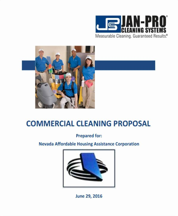 Cleaning Proposal Template Pdf Best Of 17 Cleaning Proposal Templates Free Documents In Word Pdf