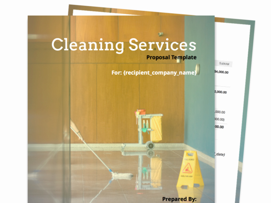 Cleaning Proposal Template Pdf Best Of Find Your Proposal Template