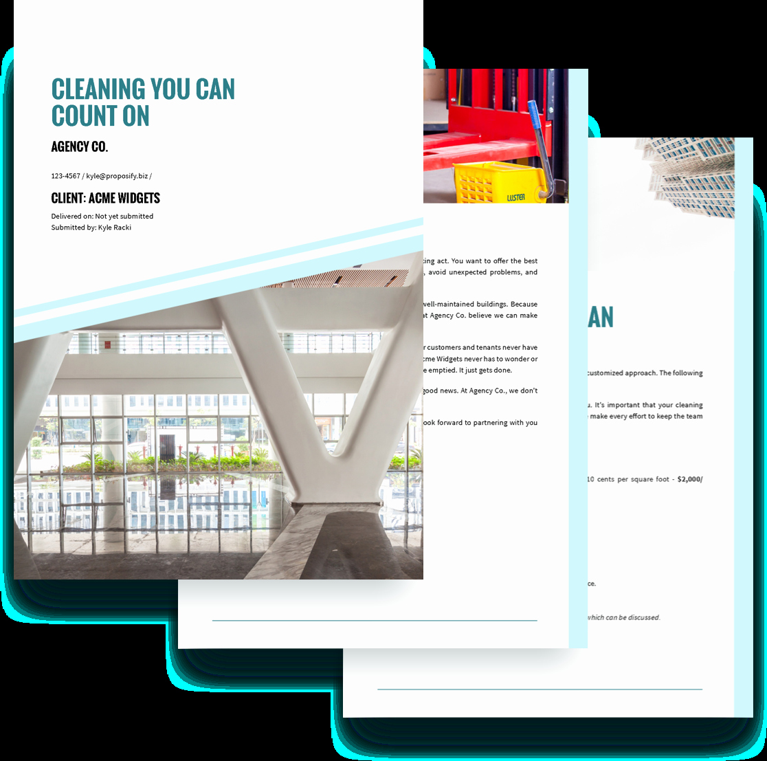 Cleaning Proposal Template Pdf Fresh Cleaning Services Proposal Template Free Sample