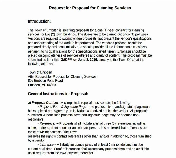 Cleaning Proposal Template Pdf Inspirational 12 Cleaning Proposals for Restaurants Cafes and