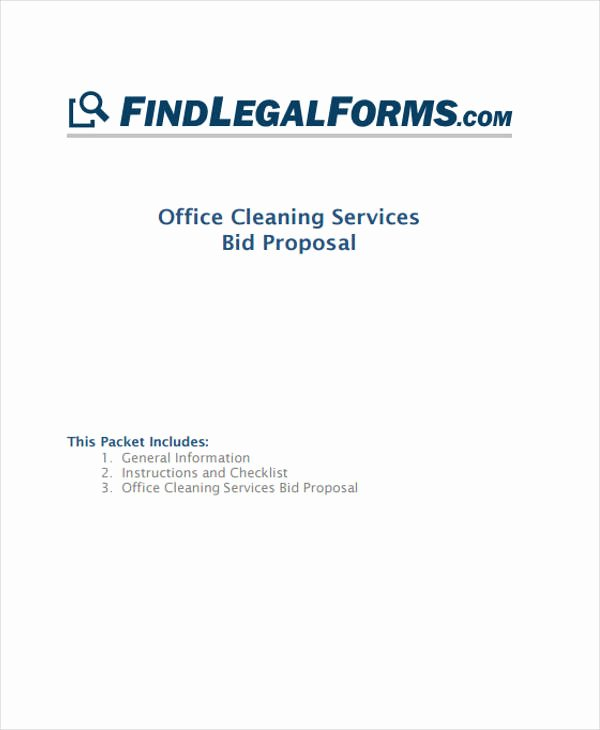 Cleaning Proposal Template Pdf Inspirational 5 Cleaning Business Proposal Templates Word Pdf