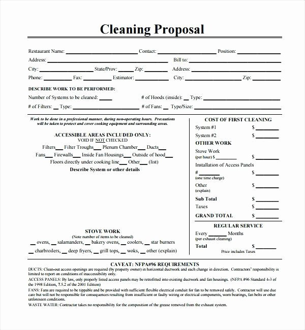 Cleaning Proposal Template Pdf Luxury Free Carpet Cleaning Proposal Template Carpet Vidalondon