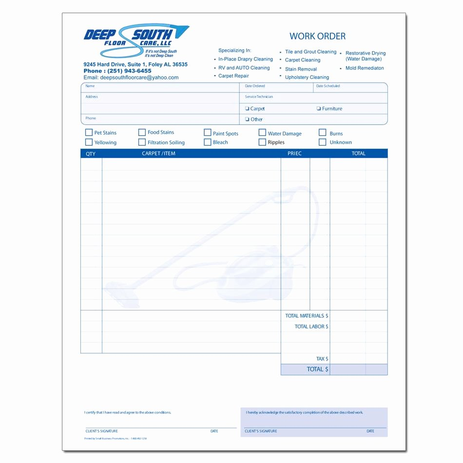 Cleaning Service Invoice Template Inspirational Cleaning Service Invoice