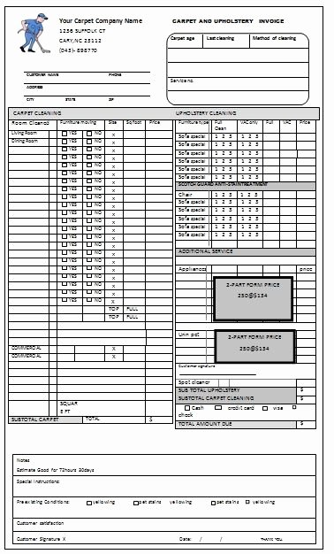 Cleaning Services Invoice Template Luxury 22 Best Images About Free Cleaning Invoice Templates On Pinterest