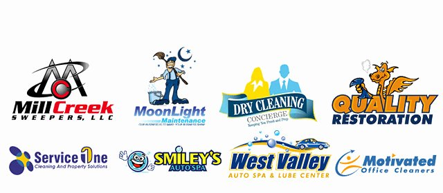 Cleaning Services Logo Templates Beautiful House Cleaning House Cleaning Services Logos Design