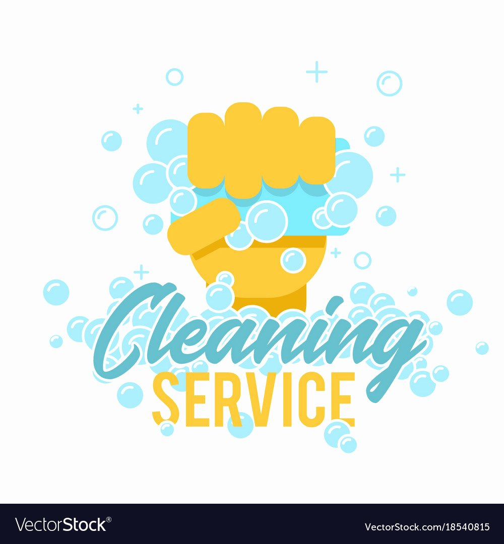 Cleaning Services Logo Templates Elegant Cleaning Service Logo Symbol or Label Template Vector Image