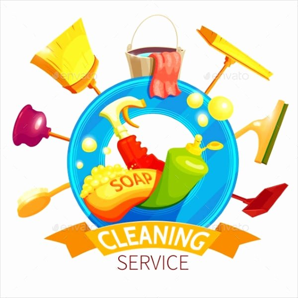 Cleaning Services Logo Templates Luxury 9 Examples Of Cleaning Logos