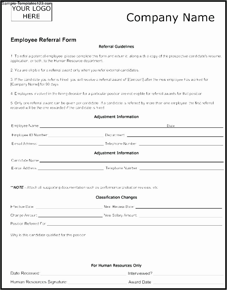 Client Referral form Template Awesome Physician Referral Template
