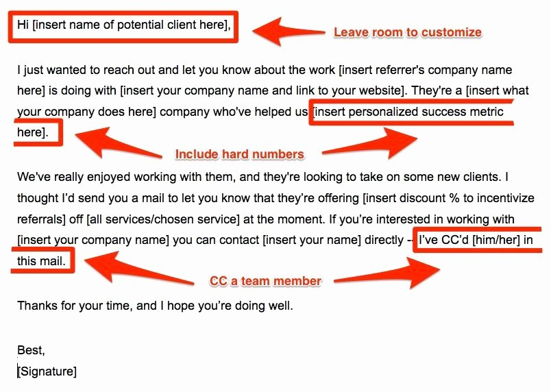 Client Referral form Template Luxury How to Build A Referral Strategy for Your Agency