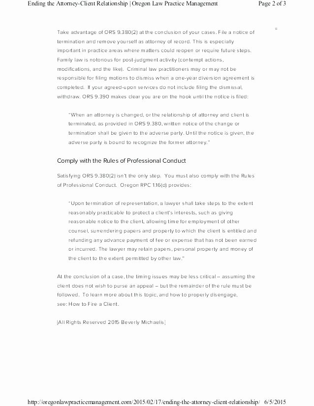 Client Termination Letter Template Fresh Letter to Fire An Employee – Eveapps