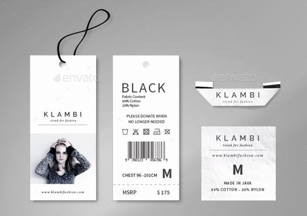 Clothing Hang Tag Template Elegant 20 Hang Tag Designs Vector Eps Ai Illustrator Download