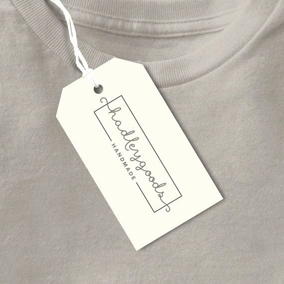 Clothing Hang Tag Template Fresh Best 25 Clothing Tags Ideas On Pinterest