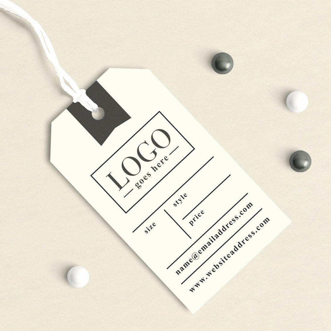 Clothing Hang Tag Template Fresh Custom Clothing Labels Clothing Tags Custom Hang Tags