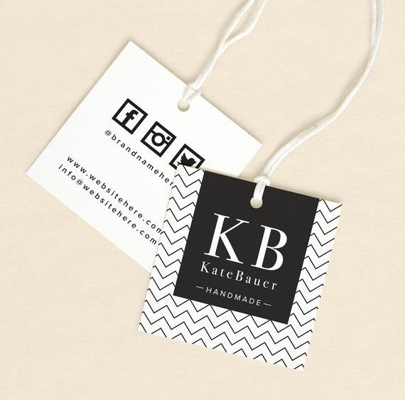 Clothing Hang Tag Template New Textile Tags Printed Label Custom Hang Tags Product Label