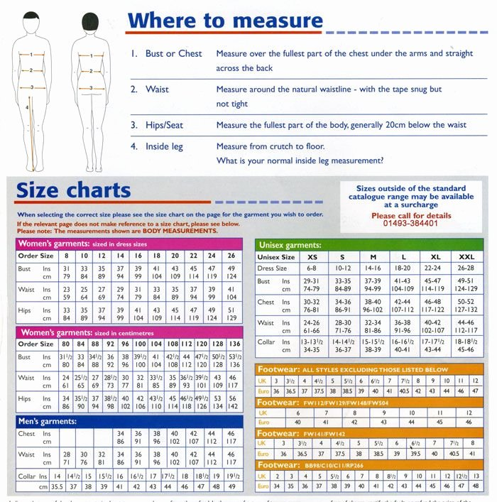 Clothing Size Chart Template Unique Body Measurement Conversion Table Size Chart La S Europe Uk