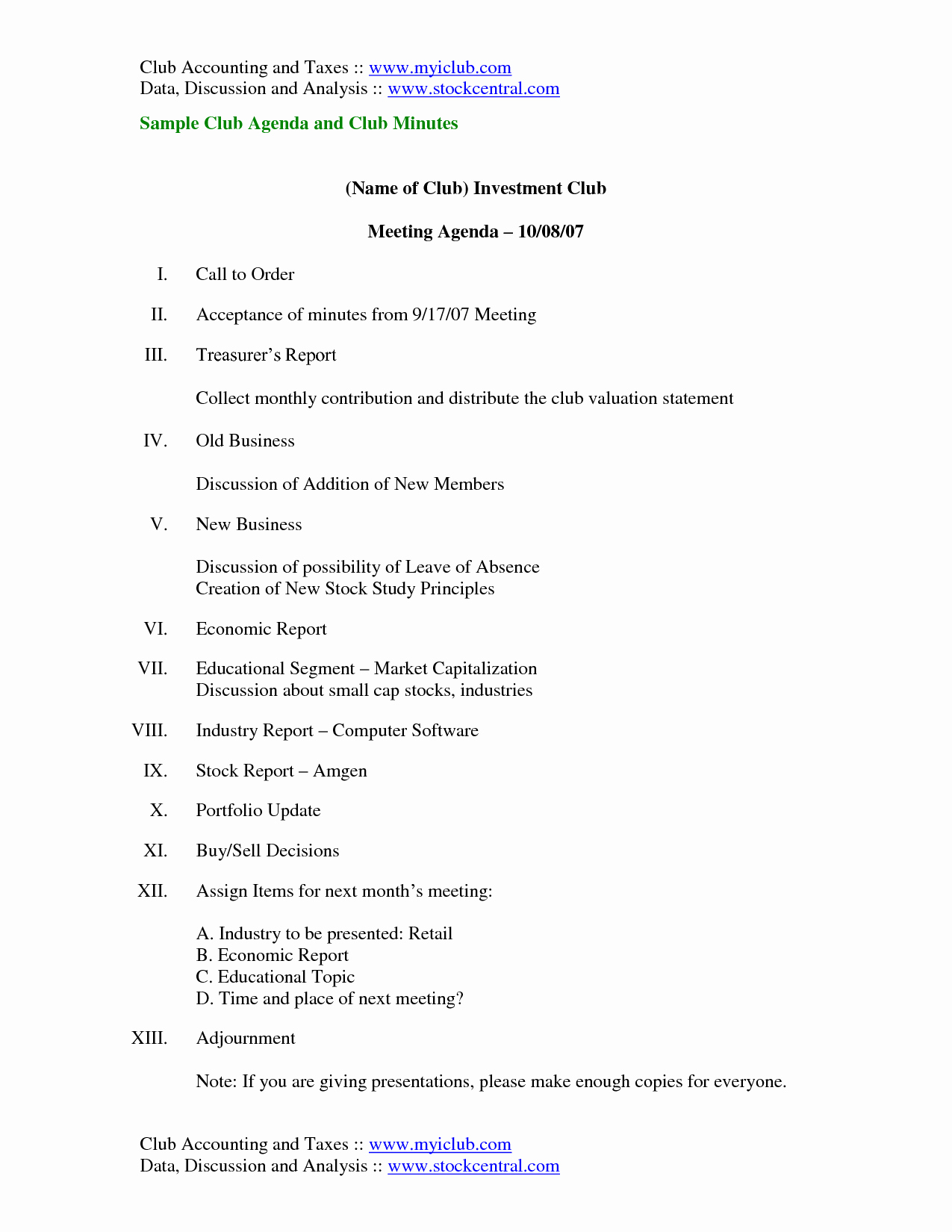 Club Meeting Minutes Template Awesome Best S Of Sample Meeting Agenda and Minutes Meeting Minutes and Agenda Samples Meeting