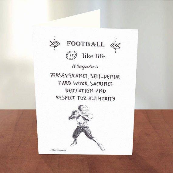 Coach Thank You Cards Awesome Coach Card Thank You Coach Football Coach Coach Quotes