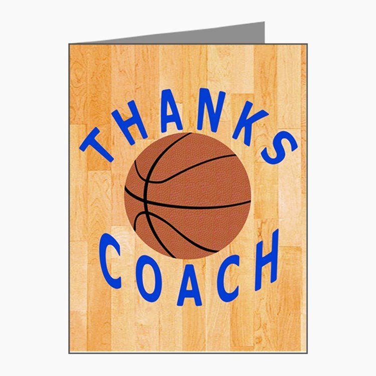 Coach Thank You Cards Luxury Coach Thank You Thank You Cards