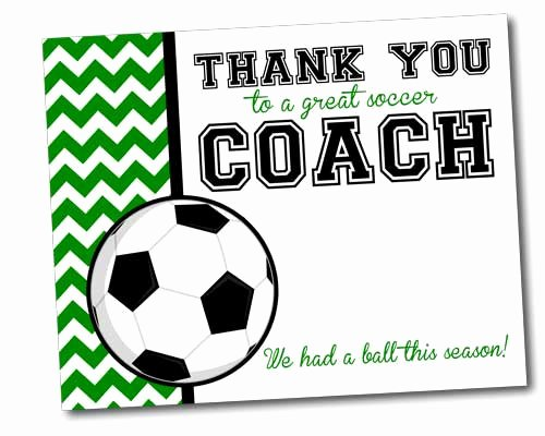 team thank you card for soccer coach