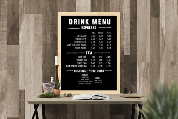 Coffee Shop Menu Template Unique 15 Coffee Shop Menu Designs & Templates Psd Ai Indesign