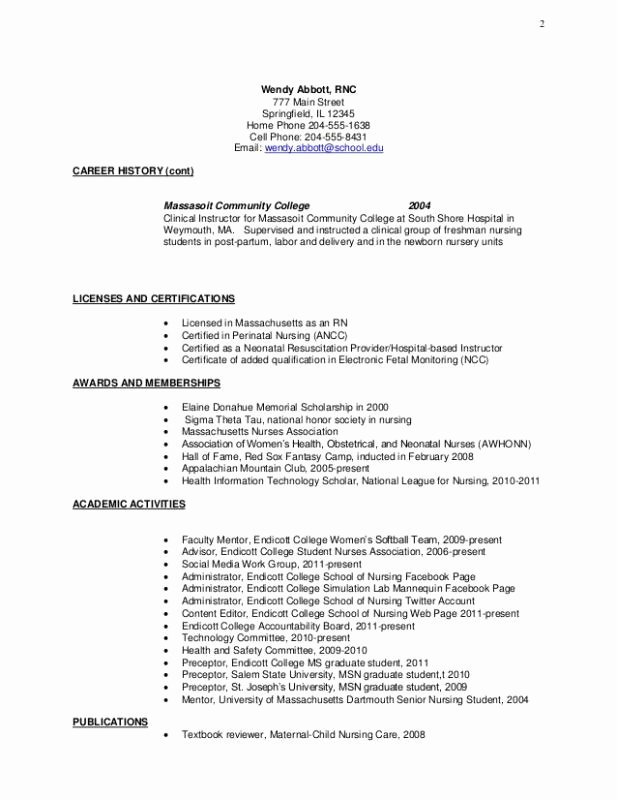 College Freshman Resume Template New College Freshman Resume Template