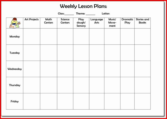 College Lesson Plan Template Inspirational College Lesson Plan Template