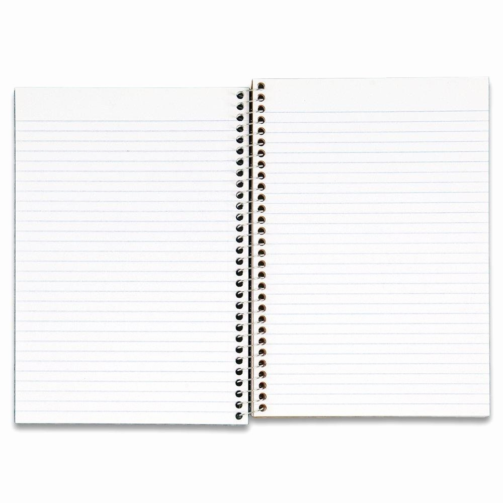 "College Rule Notebook Paper Awesome Amazon Mead Five Star Wirebound 2 Subject College Ruled Notebook 9 5"" X 6"" 100"