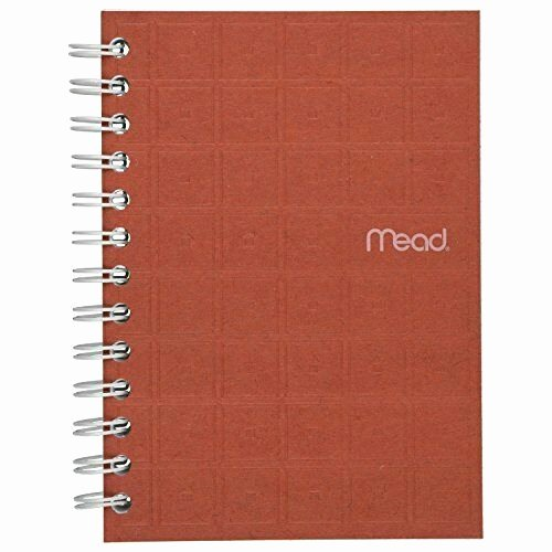 "College Ruled Notebook Paper Luxury Mead Spiral Notebook College Ruled Paper 80 Sheets 7"" X 5"" Recycled Colors"