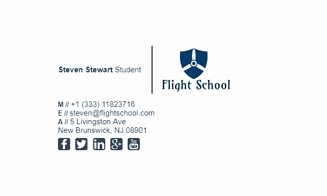 College Student Email Signature Awesome College Student Email Signature Tips and Examples