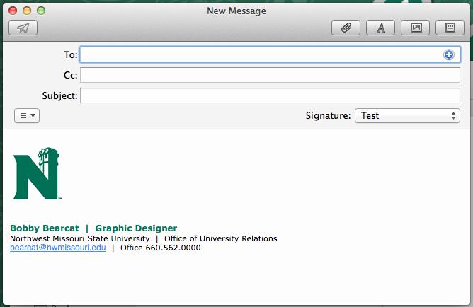 College Student Email Signature Beautiful Design University Marketing and Munication