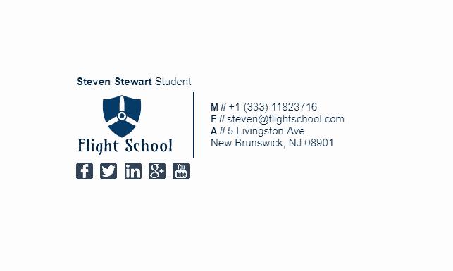 College Student Email Signature Luxury College Student Email Signature Tips and Examples