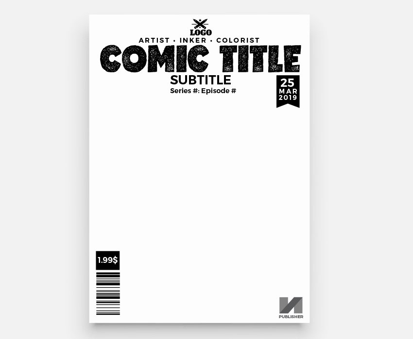 Comic Book Cover Template Awesome How to Make A Ic Book Cover