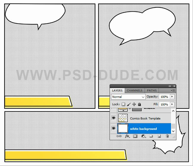 Comic Book Template Photoshop Lovely Create A Retro Ic Book Effect In Shop Shop Tutorial