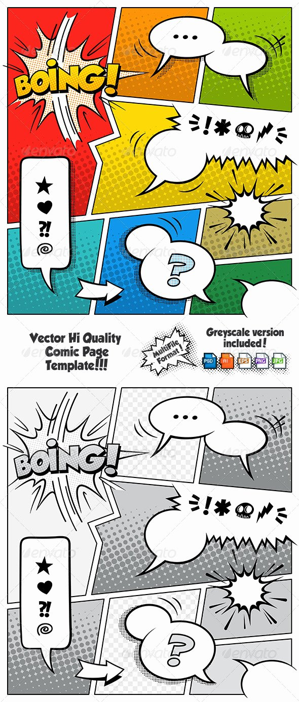 Comic Book Template Photoshop New Ic Book Speech Bubble Shop Brushes Dondrup