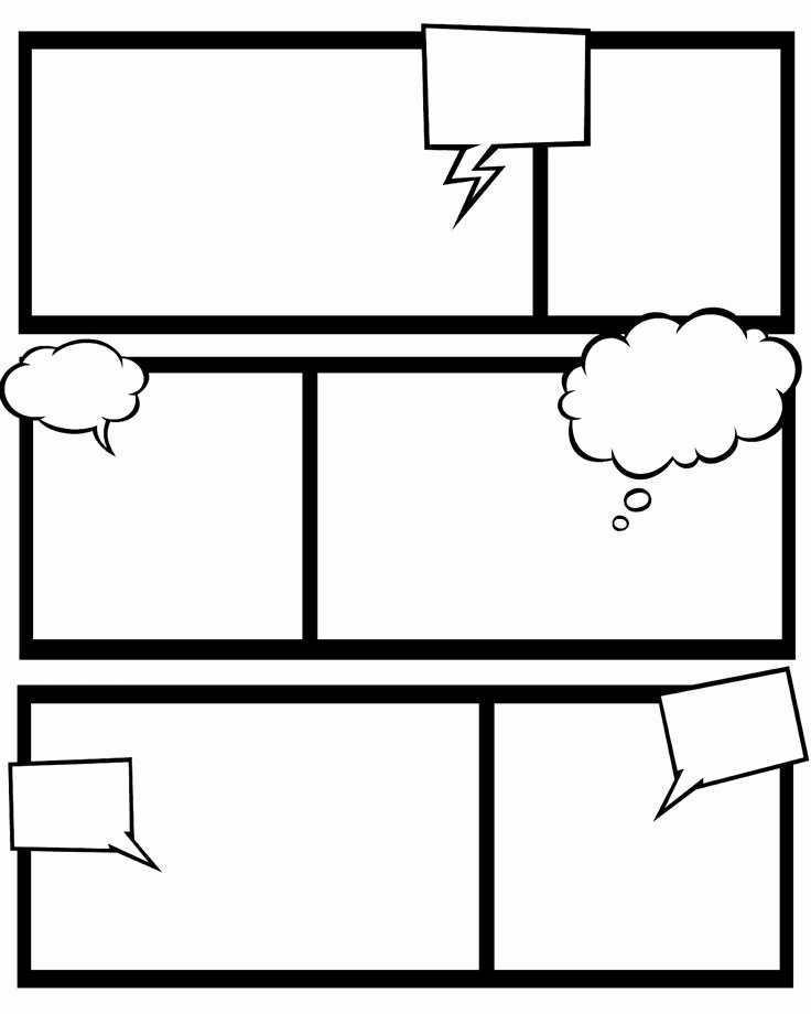 Comic Strip Template Word Best Of Ic Book Template