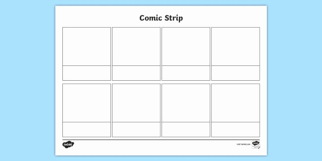 Comic Strip Template Word Elegant Free Blank Ic Strips Template Writing Position