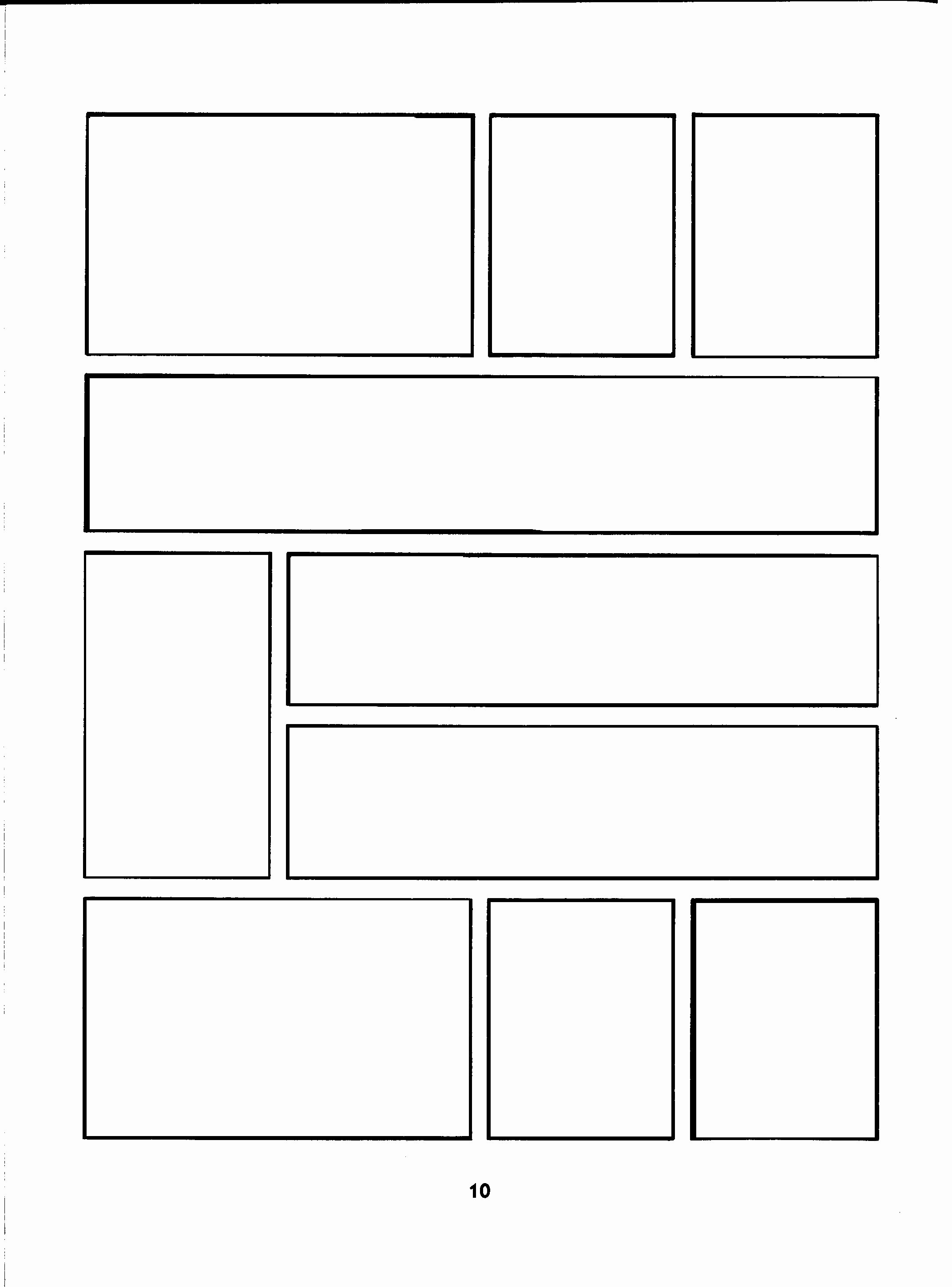 Comic Strip Template Word Fresh Ic Panel Template 18 Of 20 Ic Art