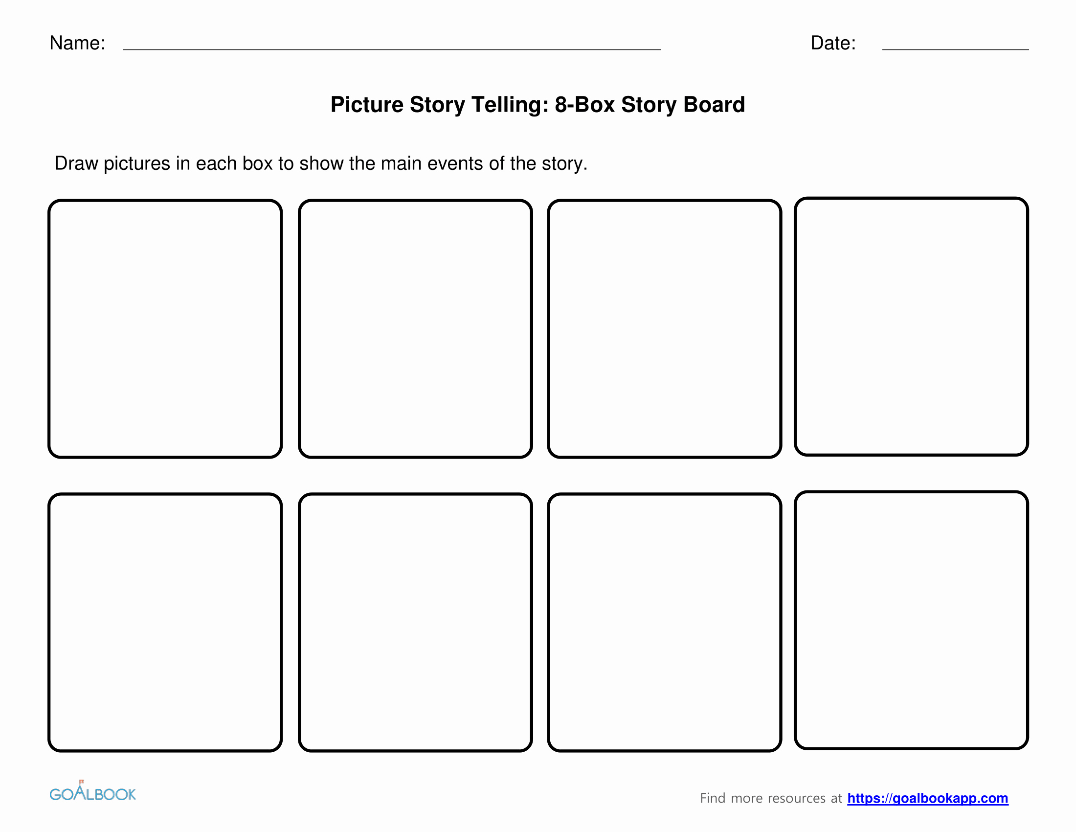 Comic Strip Template Word New Student Made Books