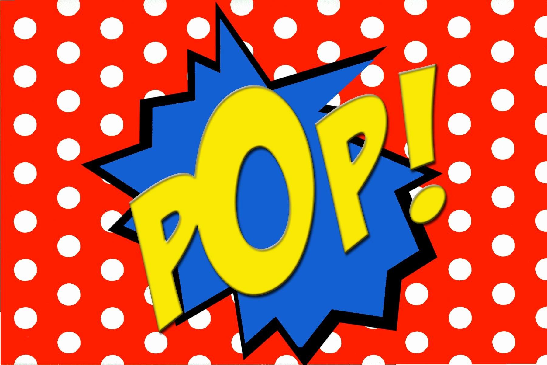 Comic Strip Template Word Unique Free Printable Pop Ic Book Word Superhero Party